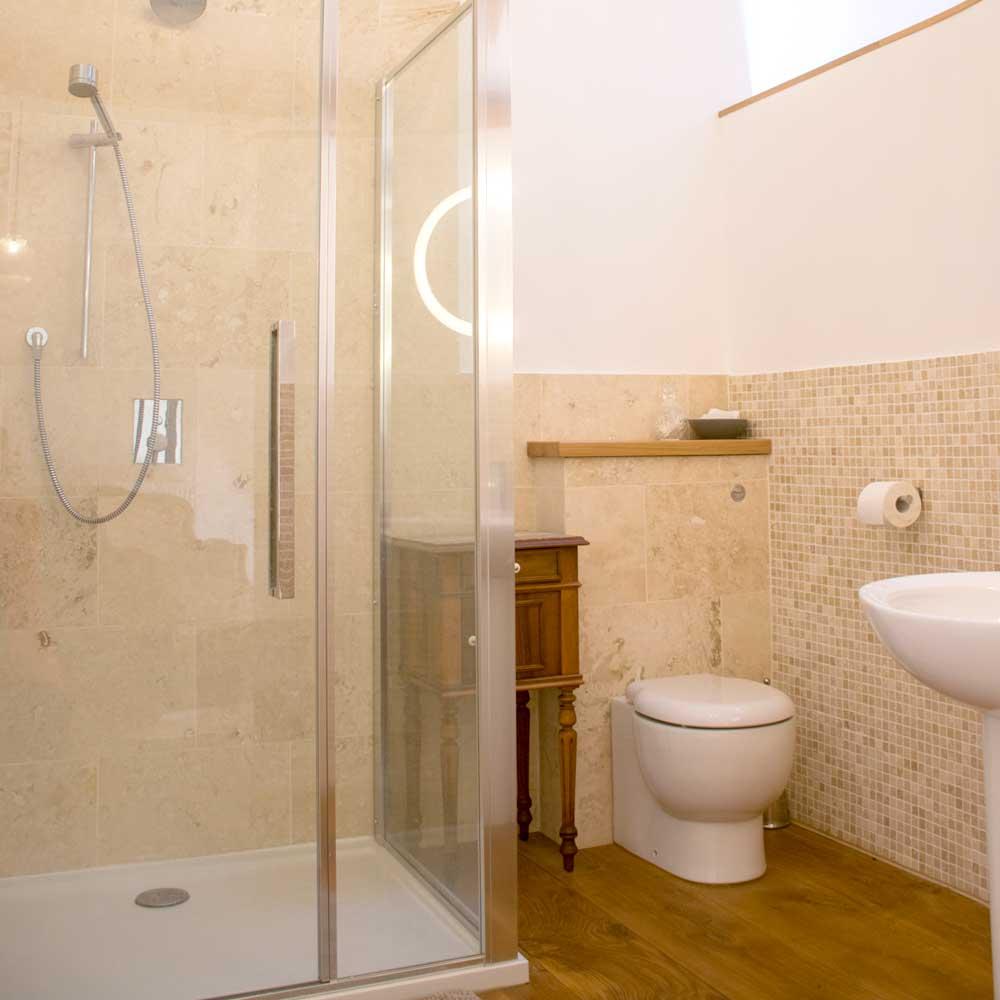 Manoir Delarue - Chouvigny - Shower