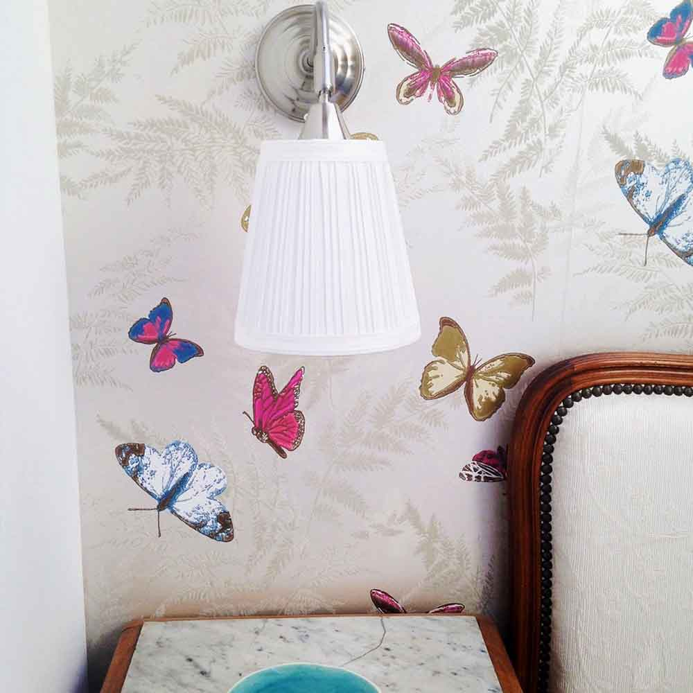 Butterfly wallpaper chambres d'hôtes